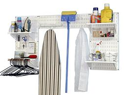 Wall Control 10-LDX-300WW Deluxe Laundry Room Organizer