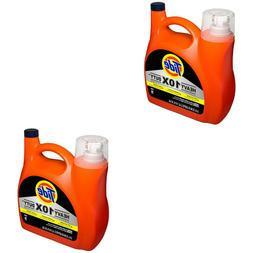 2 Pack Tide 10x Heavy Duty Bundle Liquid Laundry Detergent