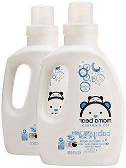 2 40oz Gentle Baby Laundry Detergent 95% Biobased Fragrance
