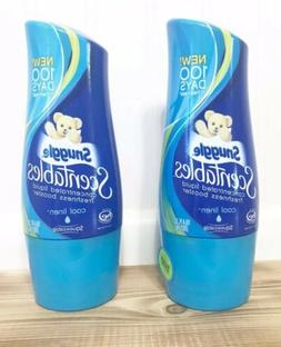 2 Snuggles Scentables Concentrated Cool Linen Liquid Laundry