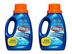 Set of 2 Clorox 2 Stain Remover & Color Booster Liquid bundl
