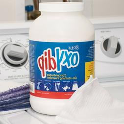 Commercial Laundry Oxy Dip Bleach Presoak and Destainer Pow