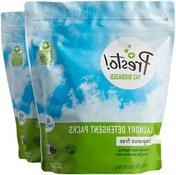 Amazon Brand - Presto! 94% Biobased Laundry Detergent Packs,