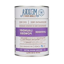 Meliora Cleaning Products Laundry Powder, Lavender, 128 HE
