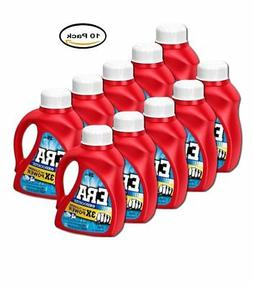 PACK OF 10 - Era 2x Ultra with Oxi Booster Liquid Laundry De