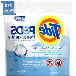 Tide FREE & GENTLE Laundry Detergent PODS. High Efficiency