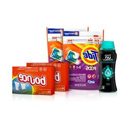 Tide Pods Laundry Detergent Pacs , Downy Unstopable Scent Be