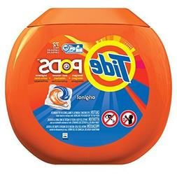 Tide Pods Tub Laundry Detergent Pacs, Original, 72 Count by