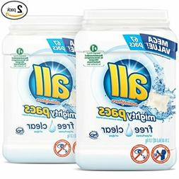 All Stainlifters Free Clear Mighty Pacs Laundry Detergent, 6