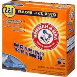 Arm & Hammer Alpine Clean Powder Laundry Detergent,Concentra