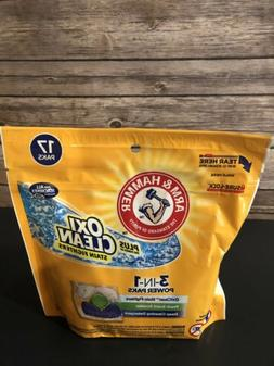 Arm amp Hammer Plus Oxiclean 3-in-1 Laundry Detergent Paks,