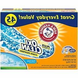 Arm & Hammer Laundry Detergent Plus OxiClean, Fresh Scent, 3
