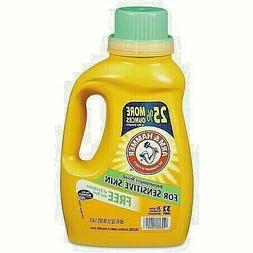 Arm & Hammer Liquid Laundry Detergent Free and Clear, HE, To