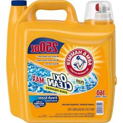 Arm & Hammer Plus OxiClean Max Liquid Laundry Detergent Fres