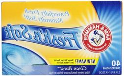 Arm & Hammer Fresh 'N Soft Fabric Softener Sheets, Clean Bur