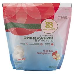 Grab Green Natural Automatic Dishwashing Detergent Pods, Red