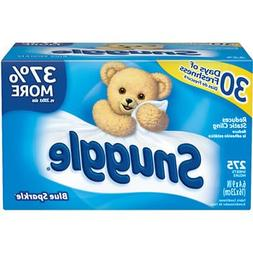 Snuggle Blue Sparkle Fabric Softener Sheets 275 count
