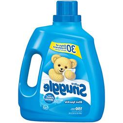Snuggle Blue Sparkle Liquid Fabric Softener, 120 Ounce, 150