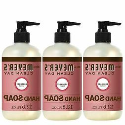 Brand New Mrs Meyers Hand Soap, Rosemary, 12.5 Fluid Ounce