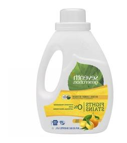 Brighteners! Seventh Generation Natural Liquid Laundry Deter