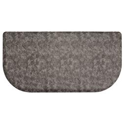 Chef Gear Clarance Embossed Wedge Gelness Mat, 20 x 39, Dark