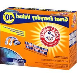 Arm & Hammer Clean Burst Laundry Detergent Powder,For all ma