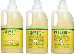 Mrs. Meyers Clean Day Laundry Detergent, Honeysuckle, 3 Coun