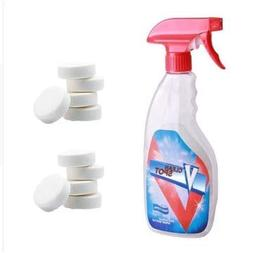 Spray Cleaner Tablet Effervescent Cleaning Bottle Functional