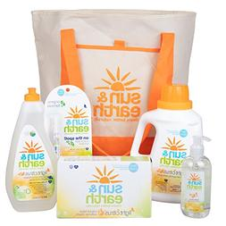 Natural Cleaning Supplies Set - Non-Toxic, Hypoallergenic La