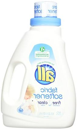 All Free Clear Fabric Softener for Sensitive Skin, 48 fl oz