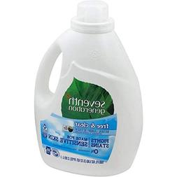 Seventh Generation Free Clear Ultra Liquid Laundry Detergent
