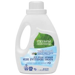 Natural 2X Concentrate Liquid Laundry Detergent, Free & Clea