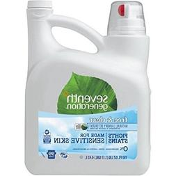 Hypoallergenic 2X Concentrated Free and Clear Natural Laundr