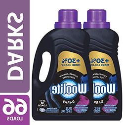Woolite DARKS Liquid Laundry Detergent, 2x33 Loads, Regular&