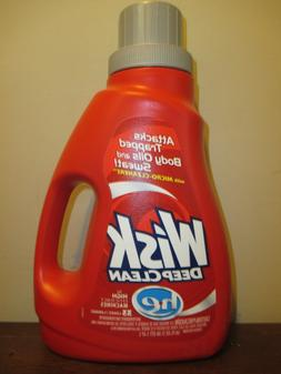 Wisk Deep Clean he Liquid Laundry Detergent 50 oz 33 Loads