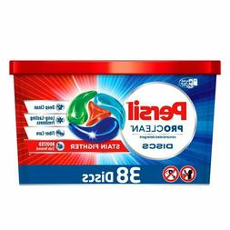 Persil Discs Laundry Detergent Packs, Stain Fighter, 38 Coun