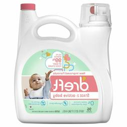 Dreft Laundry Detergent Active Baby Stage 2 - 150 oz