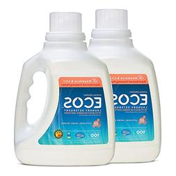 Earth Friendly Products ECOS 2X Hypoallergenic Liquid Laundr