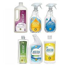 Earth Friendly Products Kitchen and Bathroom Cleaning Pack -