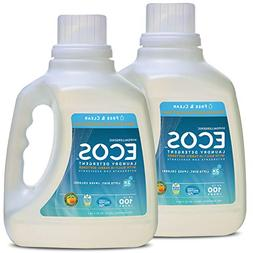 Earth Friendly Products Ecos 2x Liquid Laundry Detergent, Fr
