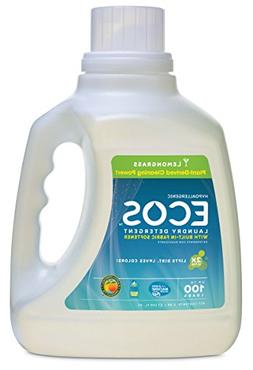 Earth Friendly Products Ecos 2x Liquid Laundry Detergent, Le