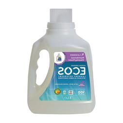 Earth Friendly Products Ecos Liquid Laundry Detergent, Laven