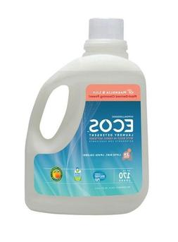 ECOS Liquid Laundry Detergent with Fabric Softener, 170 Load