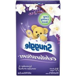 Snuggle Exhilarations Dryer Sheets, Lavender & Vanilla Orchi