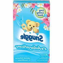 Snuggle Exhilarations Fabric Conditioner Dryer Sheets, Islan