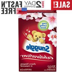 Snuggle Exhilarations Fabric Softener Dryer Sheets, Cherry B