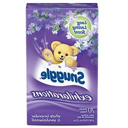 Snuggle Exhilarations Fabric Softener Dryer Sheets, Lavender