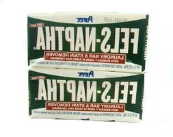 Fels Naptha Laundry Soap Bar & Stain Remover - Pack of 2 by