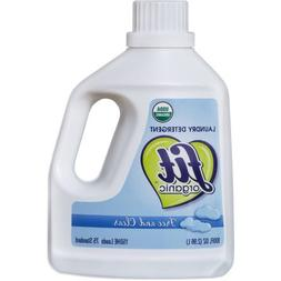 Fit Organic Free and Clear Liquid Laundry Detergent, 100 fl