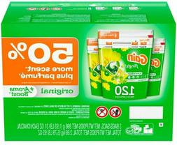 Gain flings +AromaBoost Laundry Detergent Pacs Original 120